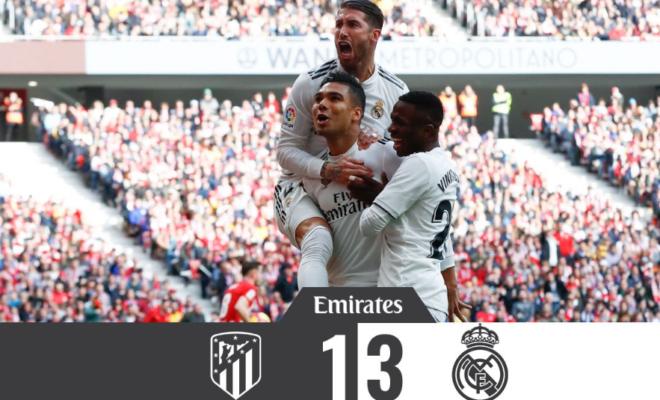 Atlético del Madrid pierde